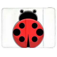 Kawaii Ladybug Samsung Galaxy Tab 7  P1000 Flip Case by KawaiiKawaii