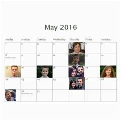 2016 Shokov By Tania   Wall Calendar 11  X 8 5  (12 Months)   J7sq38bbx76c   Www Artscow Com May 2016