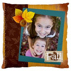 Fall By Thank You   Large Cushion Case (two Sides)   3roreomj9yhp   Www Artscow Com Front