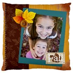 fall - Large Cushion Case (Two Sides)