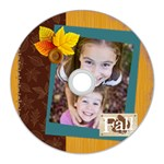 fall - CD Wall Clock