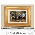 2015b - Wall Calendar 11  x 8.5  (12-Months)
