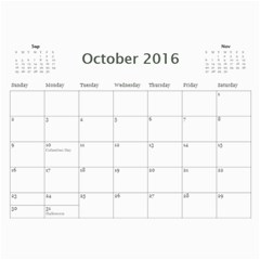 2015b By Andrea Lamont   Wall Calendar 11  X 8 5  (12 Months)   Pqlzxbuha2zh   Www Artscow Com Oct 2016