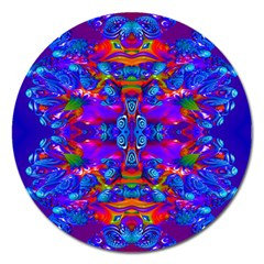 Abstract 4 Magnet 5  (round) by icarusismartdesigns