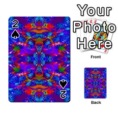 Abstract 4 Playing Cards 54 Designs  by icarusismartdesigns