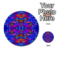 Abstract 4 Multi Purpose Cards (round)  by icarusismartdesigns