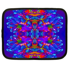 Abstract 4 Netbook Case (xxl)  by icarusismartdesigns