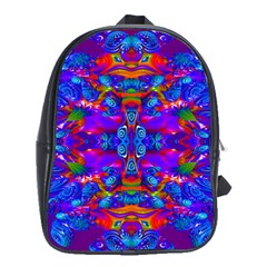 Abstract 4 School Bags (xl)  by icarusismartdesigns