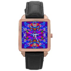 Abstract 4 Rose Gold Watches by icarusismartdesigns