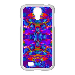Abstract 4 Samsung Galaxy S4 I9500/ I9505 Case (white) by icarusismartdesigns