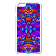 Abstract 4 Apple Iphone 6 Plus Enamel White Case by icarusismartdesigns