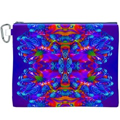 Abstract 4 Canvas Cosmetic Bag (xxxl)  by icarusismartdesigns