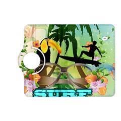 Surfing Kindle Fire Hd (2013) Flip 360 Case by FantasyWorld7