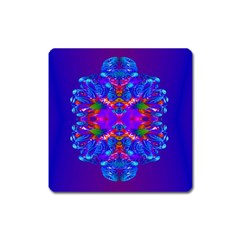 Abstract 5 Square Magnet by icarusismartdesigns