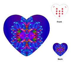 Abstract 5 Playing Cards (heart)  by icarusismartdesigns