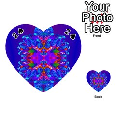 Abstract 5 Playing Cards 54 (heart)  by icarusismartdesigns