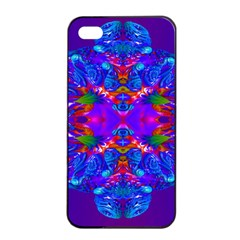 Abstract 5 Apple Iphone 4/4s Seamless Case (black) by icarusismartdesigns