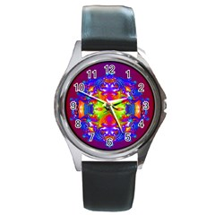 Abstract 6 Round Metal Watches by icarusismartdesigns