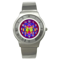 Abstract 6 Stainless Steel Watches by icarusismartdesigns