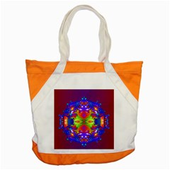 Abstract 6 Accent Tote Bag  by icarusismartdesigns