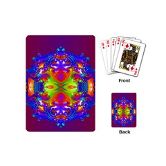 Abstract 6 Playing Cards (mini)  by icarusismartdesigns