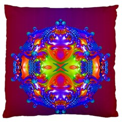 Abstract 6 Standard Flano Cushion Cases (Two Sides)  by icarusismartdesigns