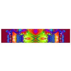 Abstract 6 Flano Scarf (small)  by icarusismartdesigns