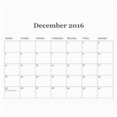 2016 Calendar By Julia   Wall Calendar 11  X 8 5  (12 Months)   35q76gyg00sg   Www Artscow Com Dec 2016