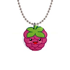 Raspberry Button Necklaces by KawaiiKawaii
