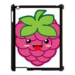 Raspberry Apple Ipad 3/4 Case (black) by KawaiiKawaii