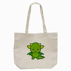 Kawaii Dragon Tote Bag (cream)  by KawaiiKawaii
