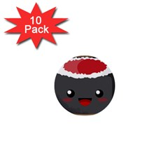 Kawaii Sushi 1  Mini Buttons (10 pack)  by KawaiiKawaii