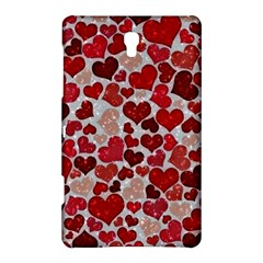 Sparkling Hearts, Red Samsung Galaxy Tab S (8 4 ) Hardshell Case