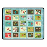 xmas - Double Sided Fleece Blanket (Small)