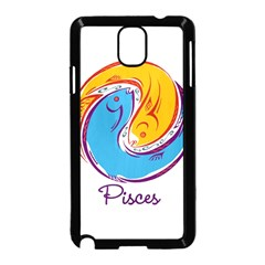 Pisces Star Sign Samsung Galaxy Note 3 Neo Hardshell Case (black) by theimagezone