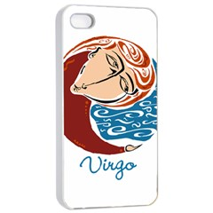 Virgo Star Sign Apple Iphone 4/4s Seamless Case (white) by theimagezone