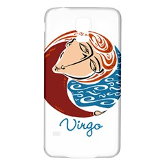 Virgo Star Sign Samsung Galaxy S5 Back Case (white) by theimagezone