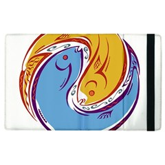 Two Fish Apple Ipad 3/4 Flip Case by theimagezone