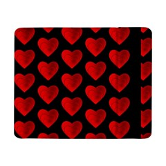 Heart Pattern Red Samsung Galaxy Tab Pro 8.4  Flip Case by MoreColorsinLife