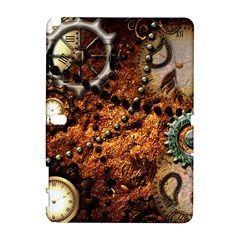 Steampunk In Noble Design Samsung Galaxy Note 10.1 (P600) Hardshell Case by FantasyWorld7