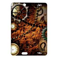 Steampunk In Noble Design Kindle Fire Hd (2013) Hardshell Case by FantasyWorld7