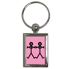 Love Women Icon Key Chains (rectangle)  by thisisnotme