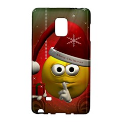 Funny Christmas Smiley Galaxy Note Edge by FantasyWorld7