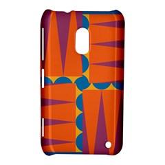 Angles Nokia Lumia 620 Hardshell Case by LalyLauraFLM