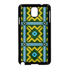 Rhombus In Squares Pattern Samsung Galaxy Note 3 Neo Hardshell Case by LalyLauraFLM