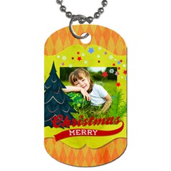 Xmas By Xmas   Dog Tag (two Sides)   Go3hteur5rwp   Www Artscow Com Front