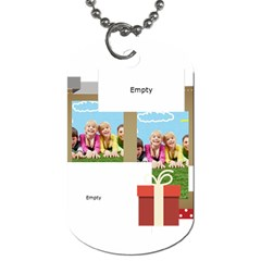 Xmas By Xmas   Dog Tag (two Sides)   Uordptcb4s97   Www Artscow Com Back