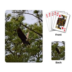 Bald Eagle 2 Playing Card by timelessartoncanvas