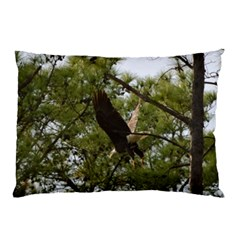 Bald Eagle 2 Pillow Cases (two Sides) by timelessartoncanvas
