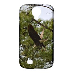 Bald Eagle 2 Samsung Galaxy S4 Classic Hardshell Case (pc+silicone) by timelessartoncanvas